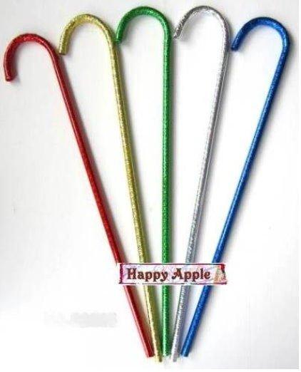 **Happy Apple** 聖誕節.萬聖節 派對表演服裝化裝舞會道具~舞會拐杖.表演拐杖.雷射拐杖