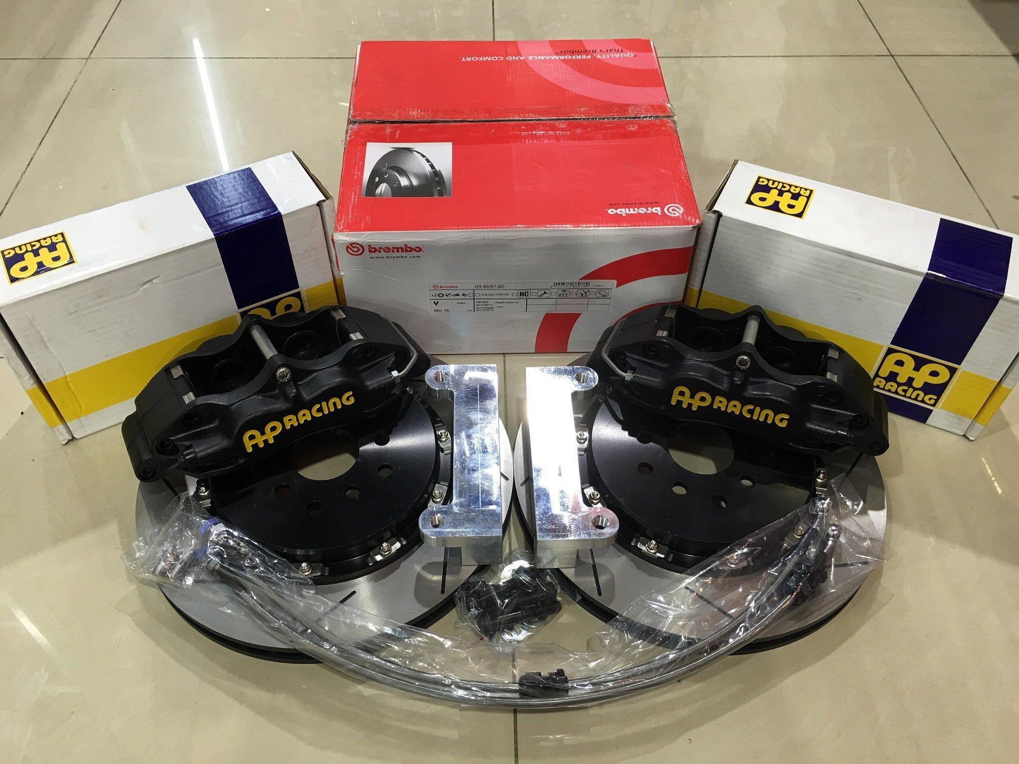 【內湖技研】AP Racing CP5200 CP5200 四活塞卡鉗搭配330mm兩片式浮動碟盤組 完整呈現AP制動表現 AP5200