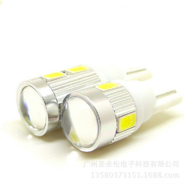 24V T10 小鋼砲 小魚眼 凸透鏡 LED 5630SMD 5730SMD 方向燈 燈條 小燈 燈泡 日行燈