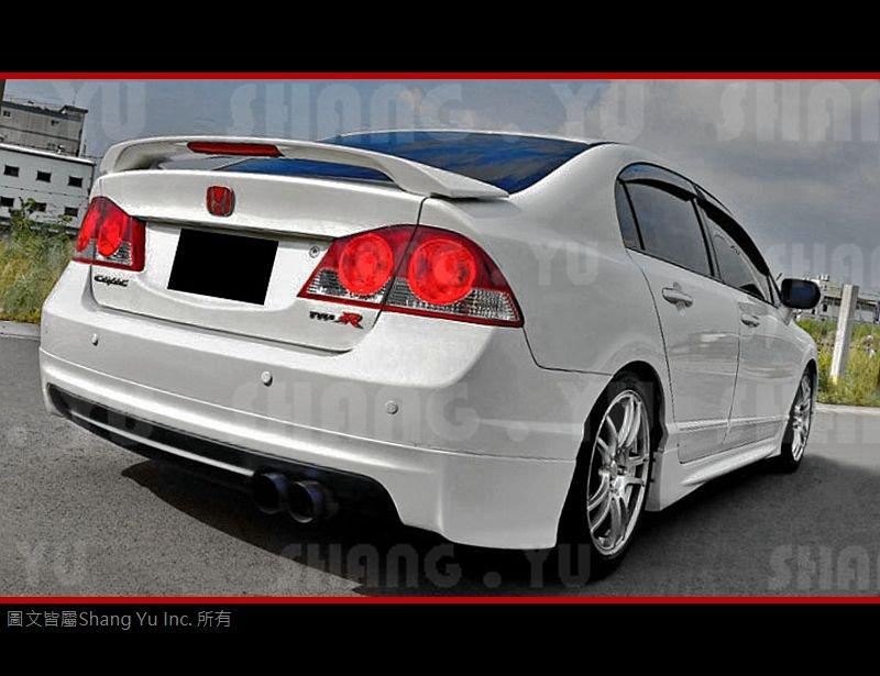 HONDA CIVIC8 K12 8代 無限 後下巴 2006 2007 2008 2009 2010 2011
