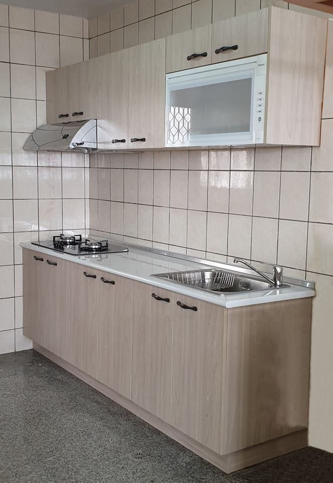 安心成家200cm系統廚櫃美耐檯面 木芯桶身 美耐門板19900起