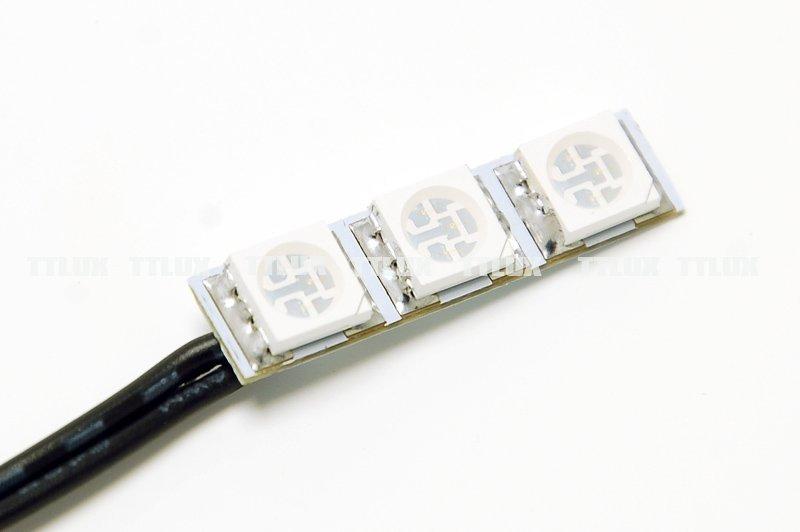 103 3顆UV 防水(光輪 夜光輪 發光輪 發光車輪)