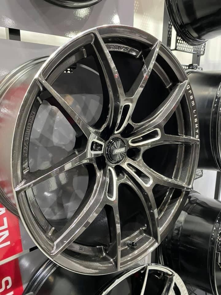 【超鑫國際】 正 日本 RAYS 57FXZ 19吋旋壓鋁圈 5孔114.3 5孔112 單片旋壓鑄造 RCF