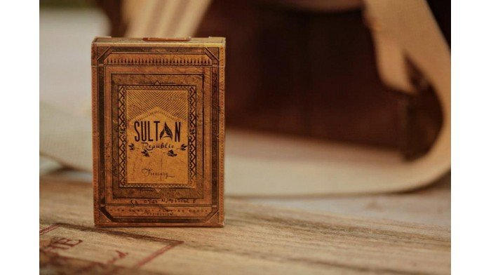【USPCC撲克】撲克牌 Sultan TREASURY 限量撲克牌