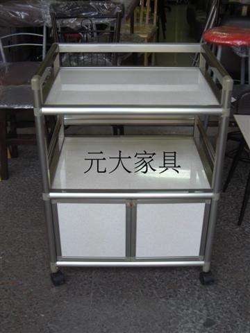 【元大家具行】全新2尺半單門鋁架加購收納櫃 微波爐架 置物架 廚房鋁架 客製化鋁架 訂做鋁架