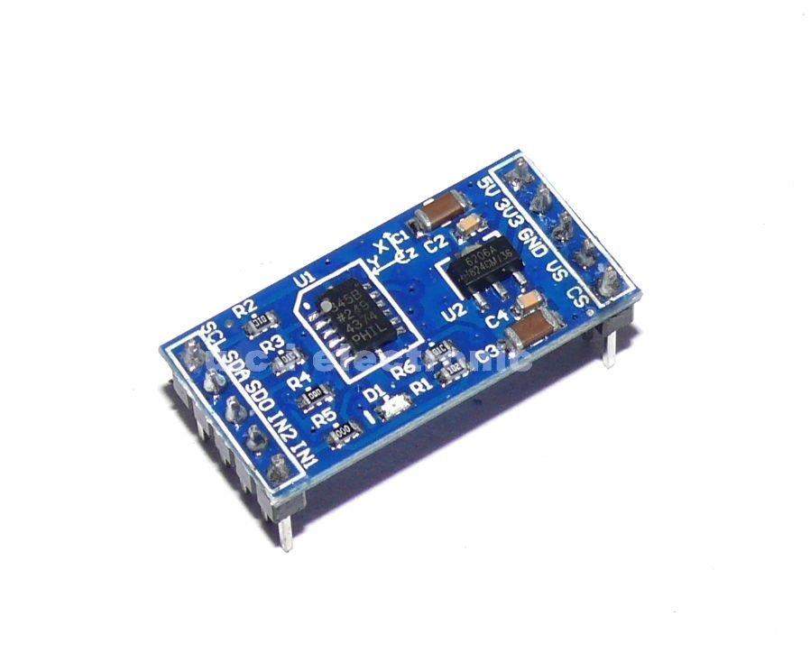 【UCI電子】(14-1)  ADXL345 數字三軸重力加速度傾斜度模塊 (DIP板)