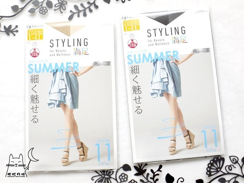 【拓拔月坊】福助 滿足 Styling 防勾紗 x 著壓 「Summer」透氣 褲襪 日本製~現貨! L-LL