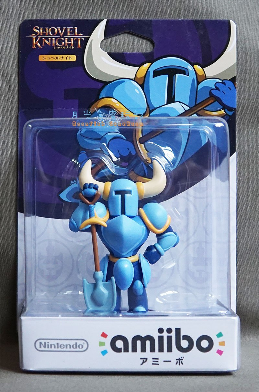【月光魚 電玩部】amiibo Shovel Knight 鏟子騎士 人偶玩具 3DS Wii U NS