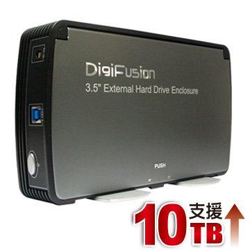 (支援16TB) 伽利略 USB3.0 2.5 / 3.5 硬碟外接盒 (35C-U3)