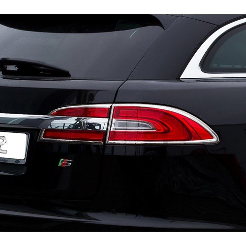 【JR佳睿精品】11-14 Jaguar 積架 XF Sportbrake 改裝 鍍鉻後燈框 尾燈框 精品 台灣製