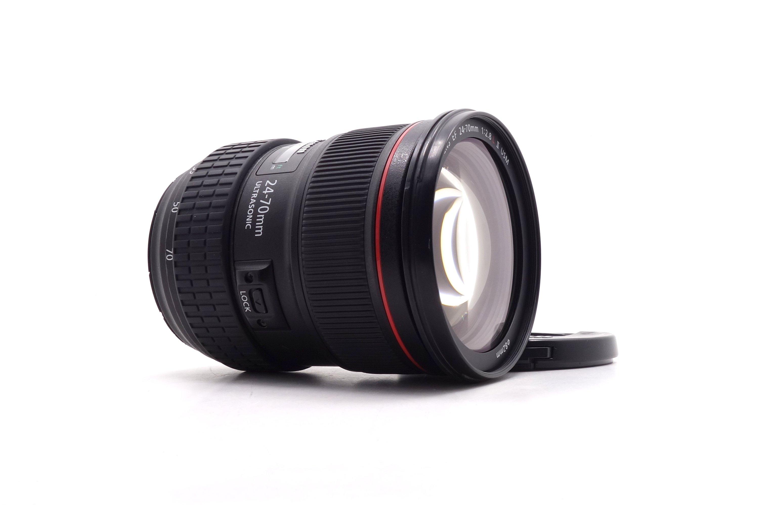 【台中青蘋果】Canon EF 24-70mm f2.8 L II USM 二手 鏡頭 #52526