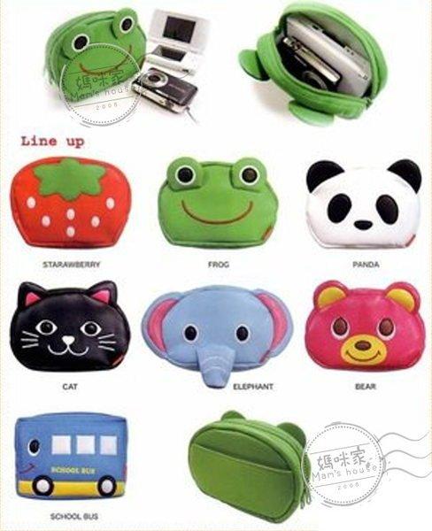 媽咪家【HA019】HA19多用途包 小物包 相機包 化妝包 手機包 拉鏈包 小錢包 收納包 兒童包