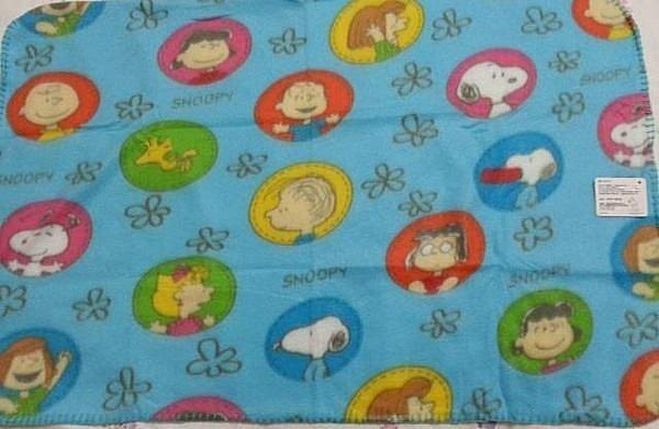 SNOOPY刷毛毯、童毯、毛毯~100元 賣