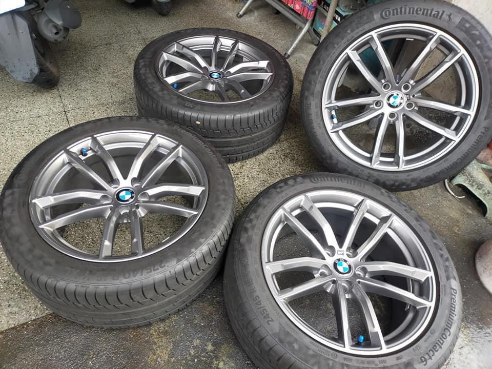 BMW G30 G31 原廠662M 18吋前後配鋁圈含胎.G30 G31 G20 G21 G01 G02 5孔112