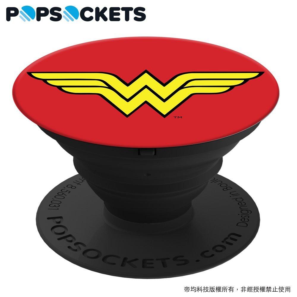 正義聯盟 - 神力女超人【 正品 PopSockets 泡泡騷】美國 多 手機支架