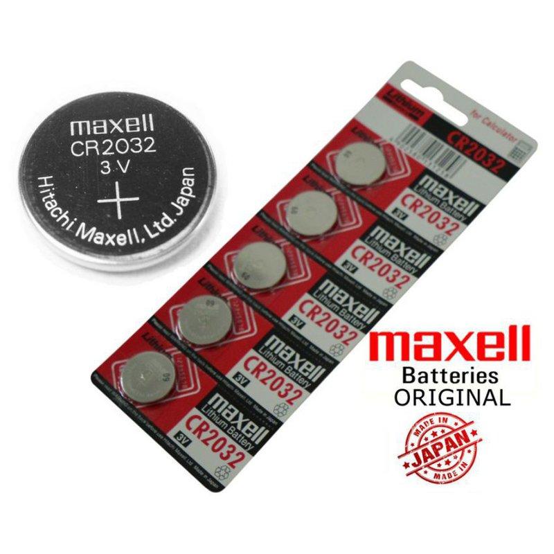 maxell 3V [日產] 鈕扣電池 🔋 全新 現貨 CR2032 Pokemon GO 寶可夢手環 水銀電池
