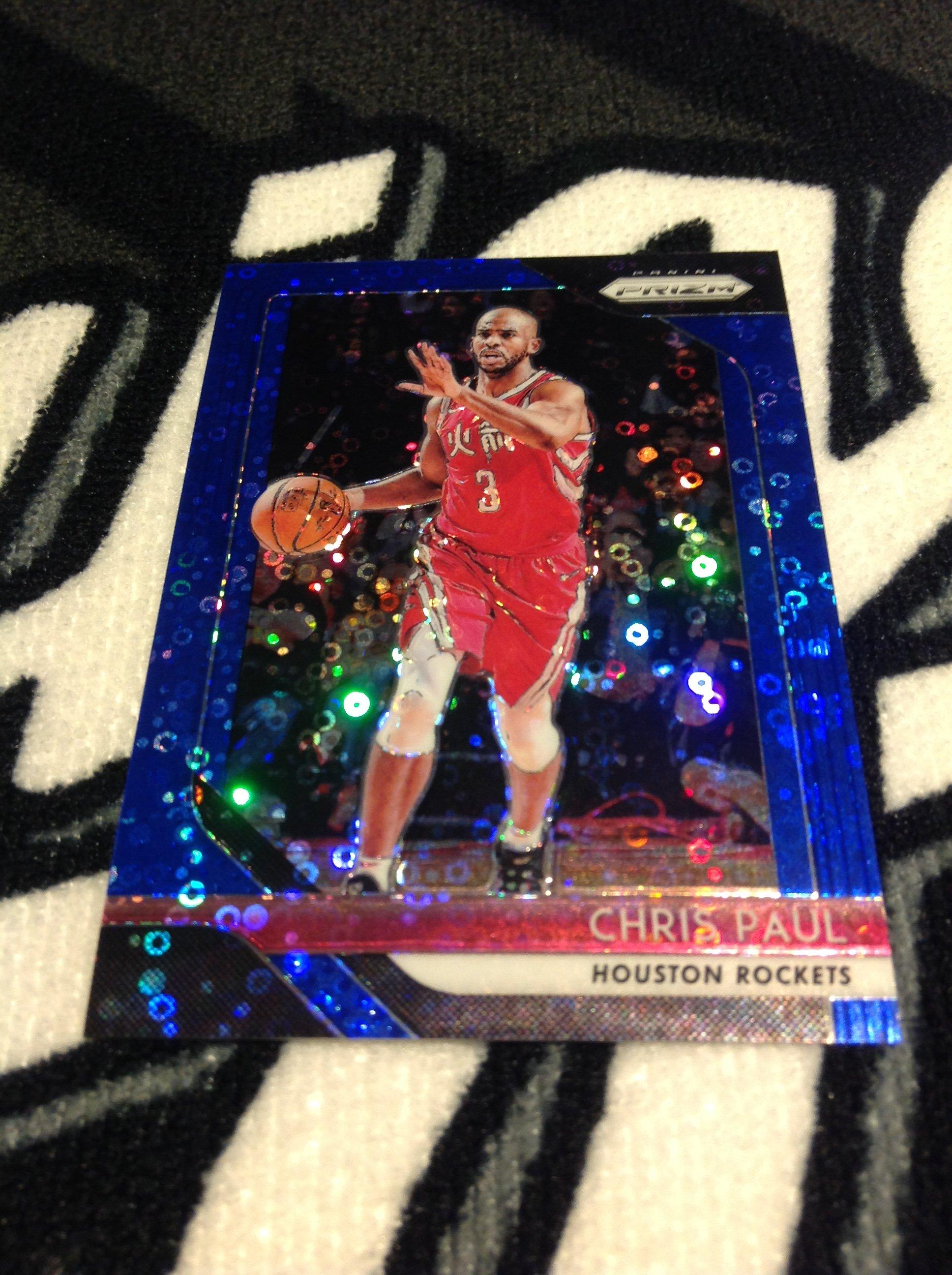 18 19 Prizm FB - Chris Paul 限量/175 快攻藍亮面平行卡