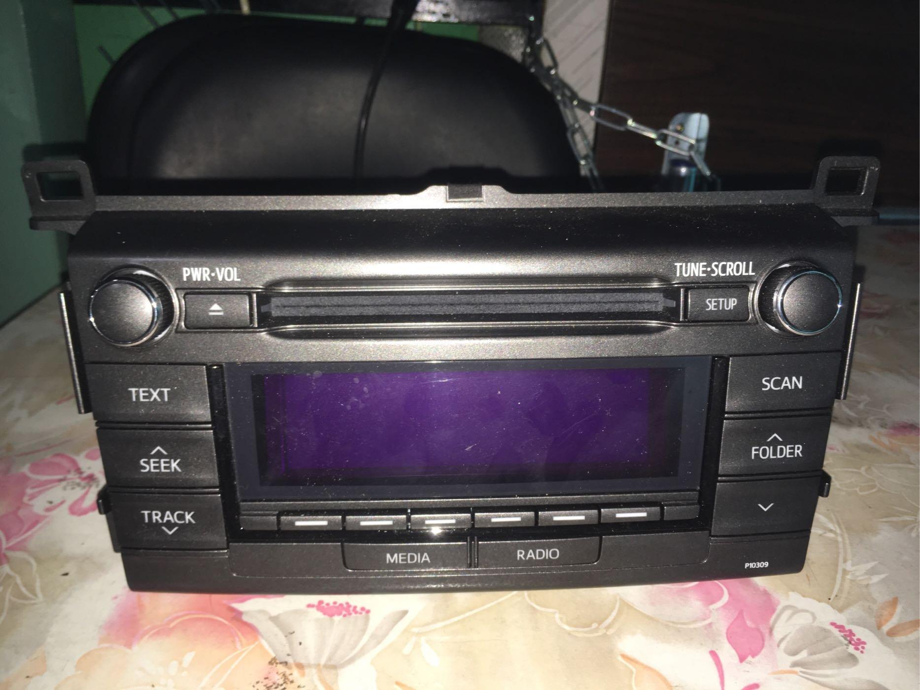 [二手汽車音響]TOYOTA  2015年RAV4 原廠主機 CD 音響主機