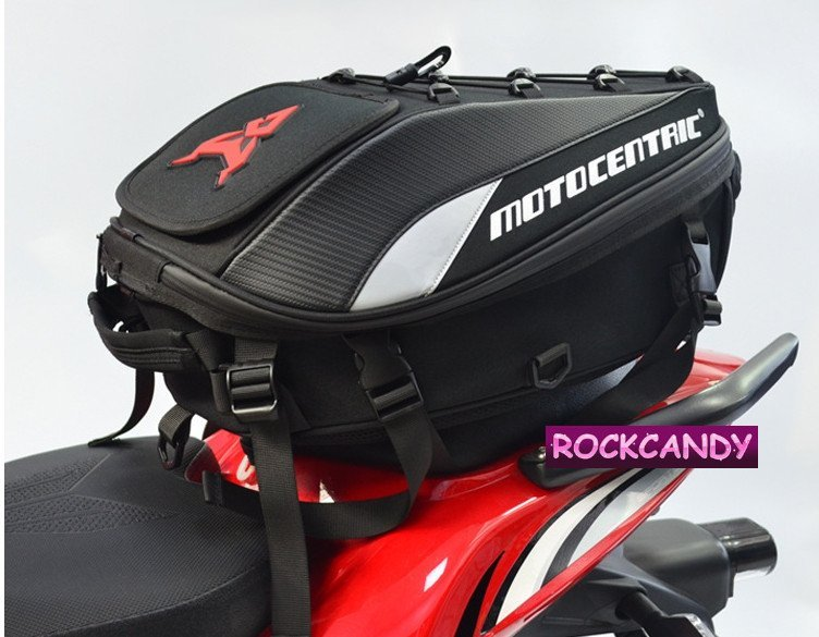 大容量摩托車防水後座包 反光後背包 頭盔包 機車兩用 大包 安全帽包 雙肩包 大背包 重機車尾包 馬鞍包 現貨 台灣賣家