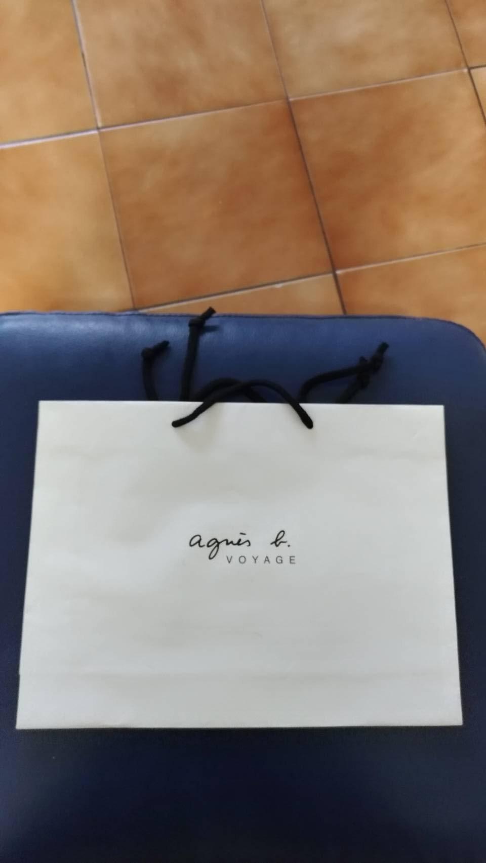 agnes b.品牌 紙袋 提袋 各種尺寸 款式