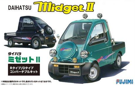 富士美拼裝汽車模型 1/24 Daihatsu Midget Type R/D Type 03909