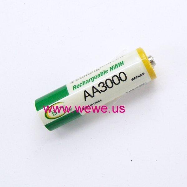 [阿美] BTY 3號AA 鎳氫充電電池 AA3000 另有1.5v充電鋰電池 非14500 3.7v 3.2V鋰鐵