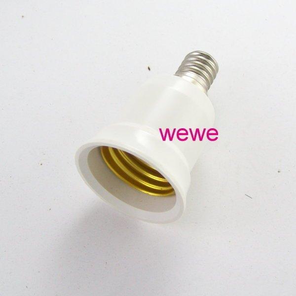 =阿美e族=e27 轉 e14燈座 led燈泡/省電燈泡螺旋燈泡 最佳拍檔 節能減碳 e27燈泡變成e14燈泡