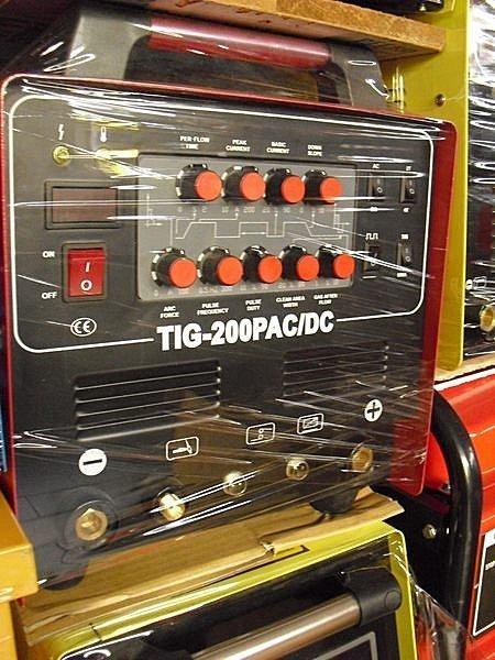 ㊣宇慶S舖㊣台灣精品 勇焊OEM TIG-200P AC/DC 多功能交直流機 氬焊/電焊/鋁焊 皆可使用