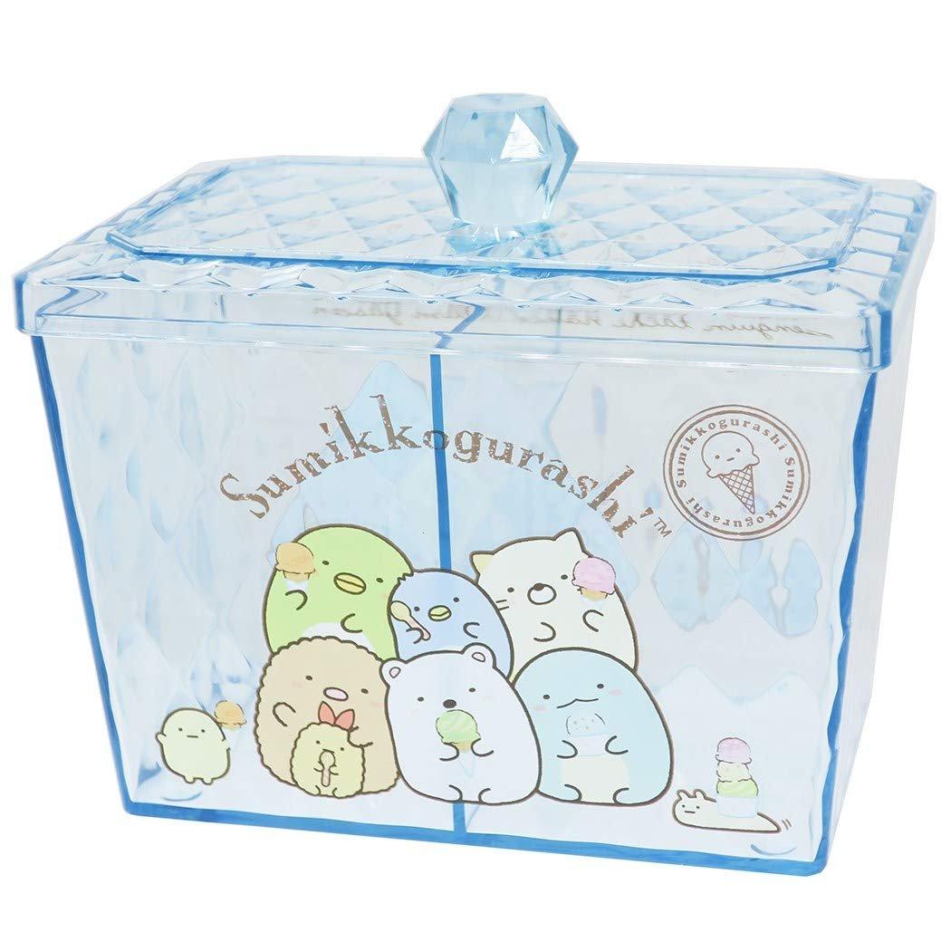 X射線【C481810】角落生物 Sumikko Gurashi 透明小物收納罐,置物櫃 收納櫃 收納盒 抽屜收納盒 收