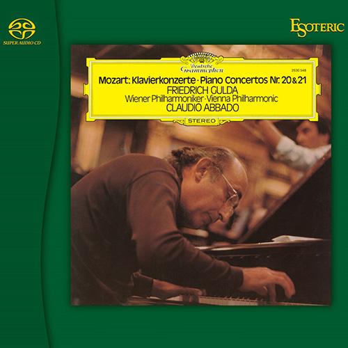 ESOTERIC ESSG-90182 沃夫岡‧阿瑪迪斯‧莫札特 D小調鋼琴協奏曲第20號 C大調鋼琴協奏曲第21號