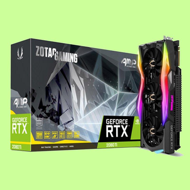 5Cgo【聯強】 ZOTAC 索泰GAMING GeForce® Ti AMP Extreme RTX 2080顯示卡