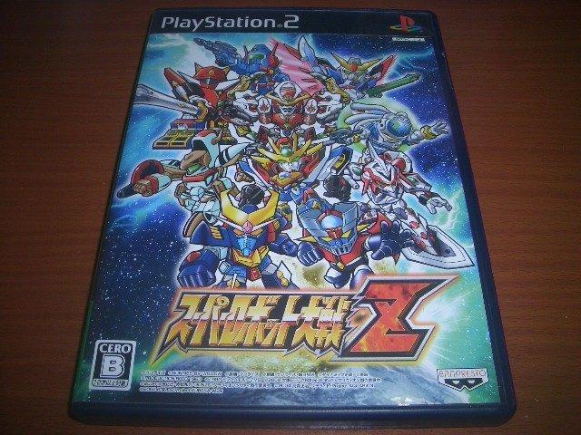 PS2 第一次超級機器人大戰Z 純日版 ~非PSV PSVITA PS3 天獄篇 時獄篇 第三次
