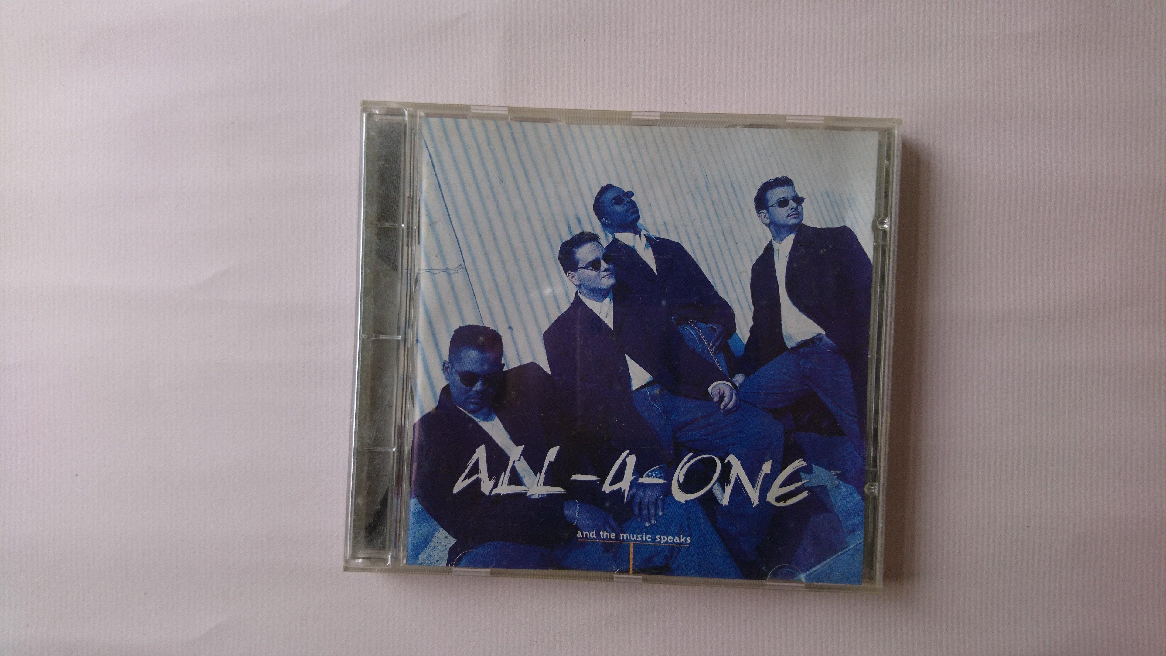 【鳳姐嚴選二手唱片】All-4-One  合而為一合唱團 / and the music speaks