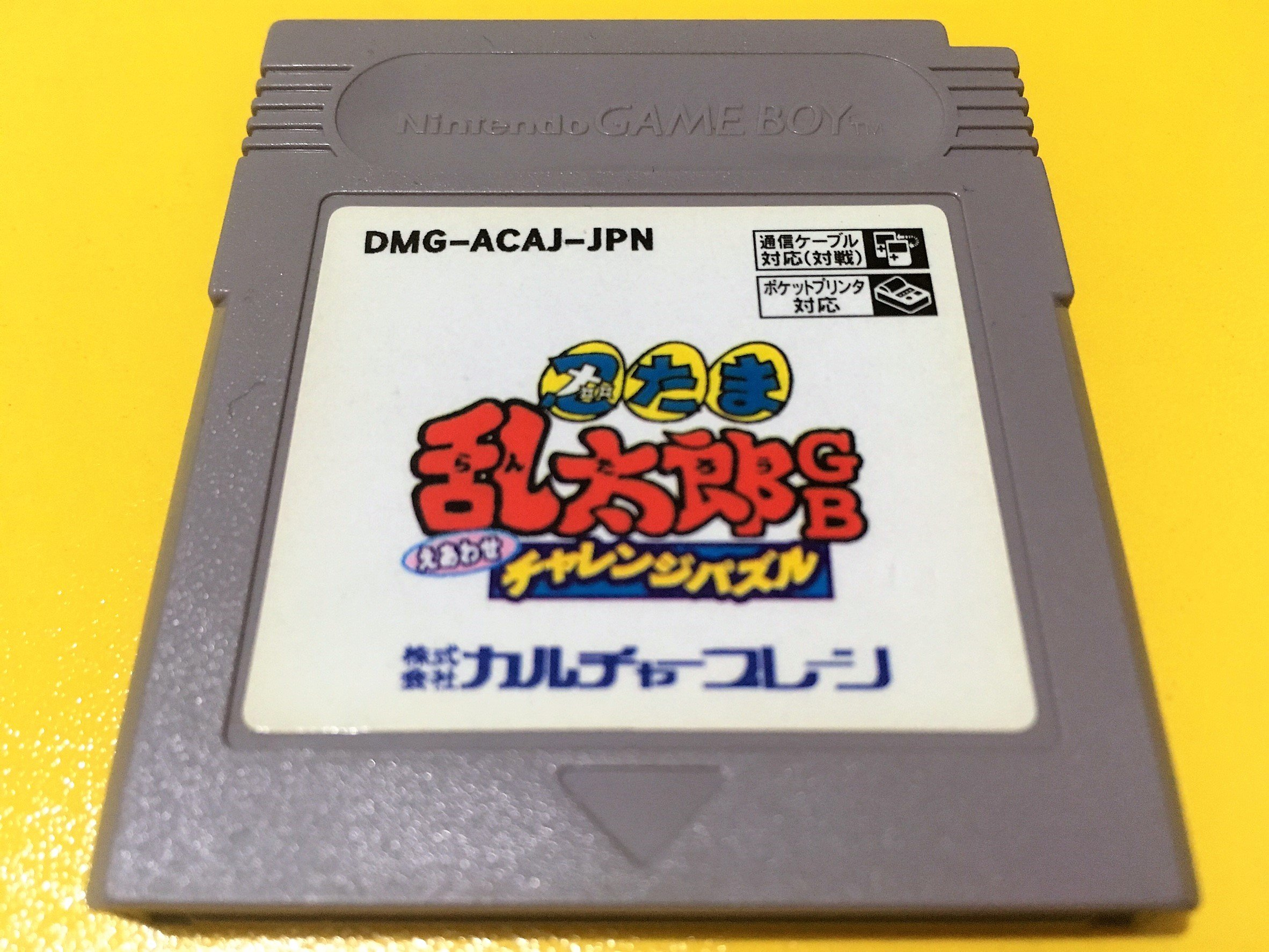 幸運小兔 GB遊戲 GB 忍者亂太郎 GB卡帶 任天堂 GameBoy GBC、GBA 主機適用 F2D4