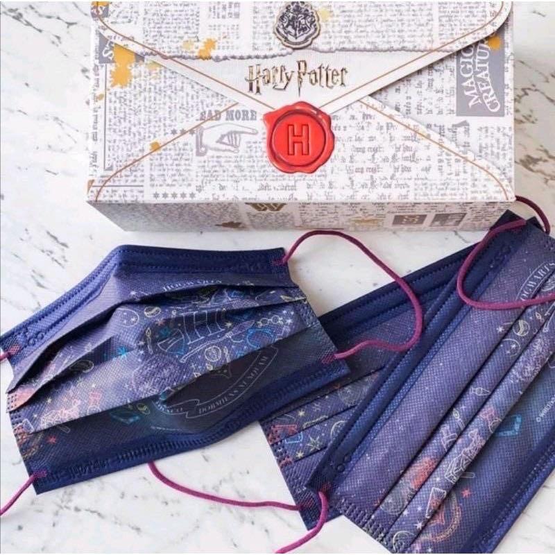 現貨 2片裝 中衛 CSD x 哈利波特 Harry Potter 聯名款 「入學通知款」 口罩 分裝 收藏