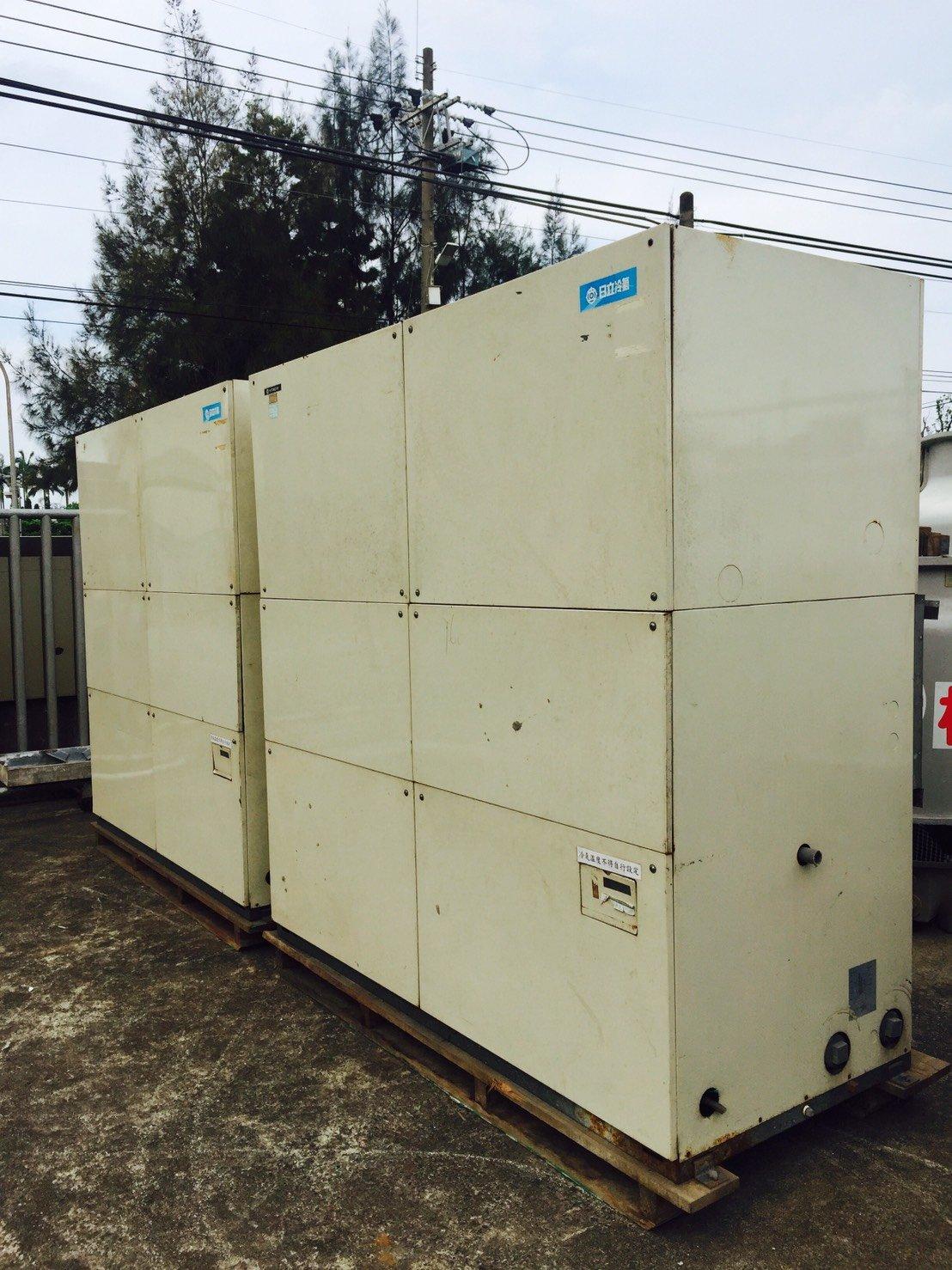 日立風管型冰水主機(二手)中古冷氣 30噸