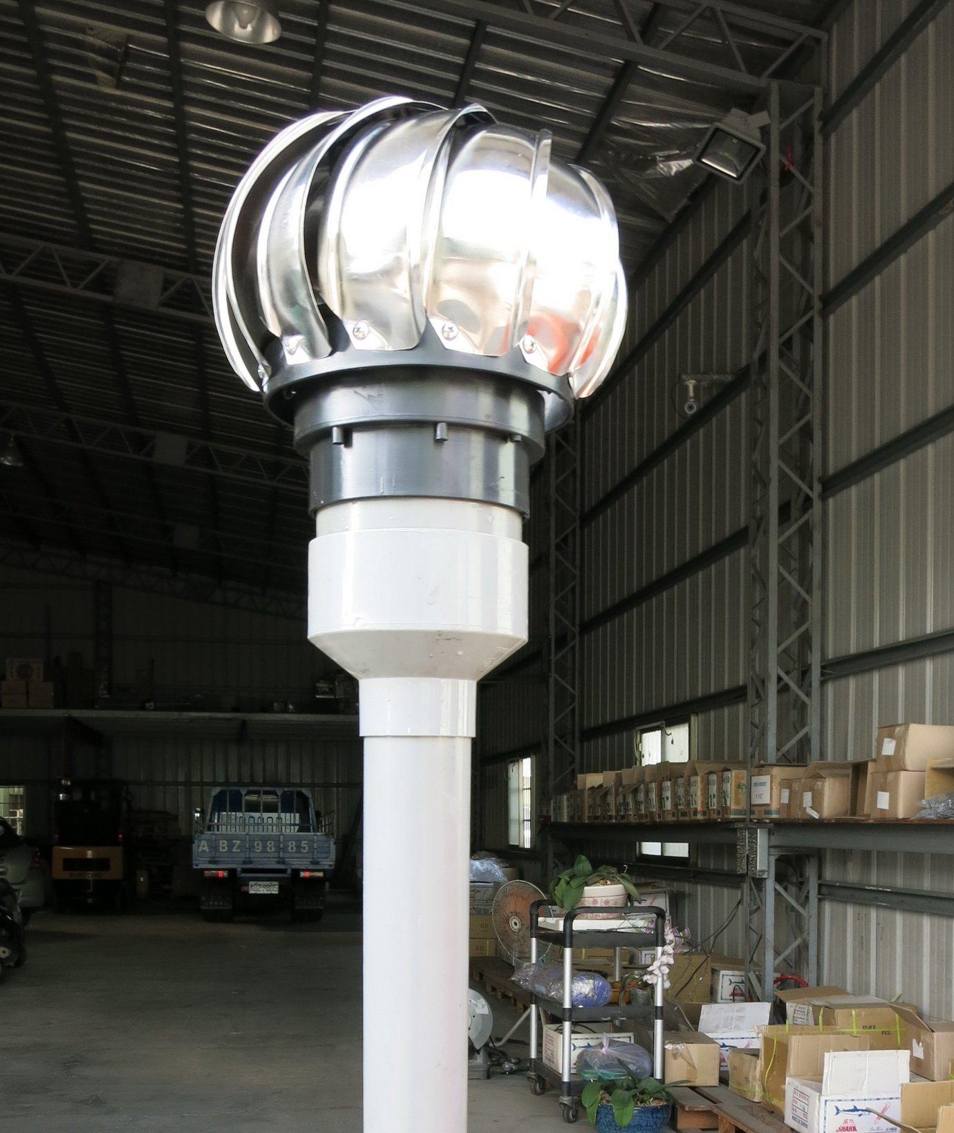 §排風專家§ 4 5 304不鏽鋼通風球  可轉配2吋~3吋水管 排風球, 適用於 浴室 廁所 大樓通風管