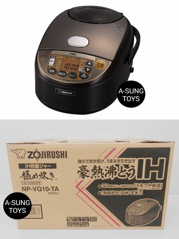 【空運】 zojirushi 象印 NP-VQ10 黑圓厚釜 內鍋 IH電子鍋 6人份 六人份 IH電鍋 IH炊飯器
