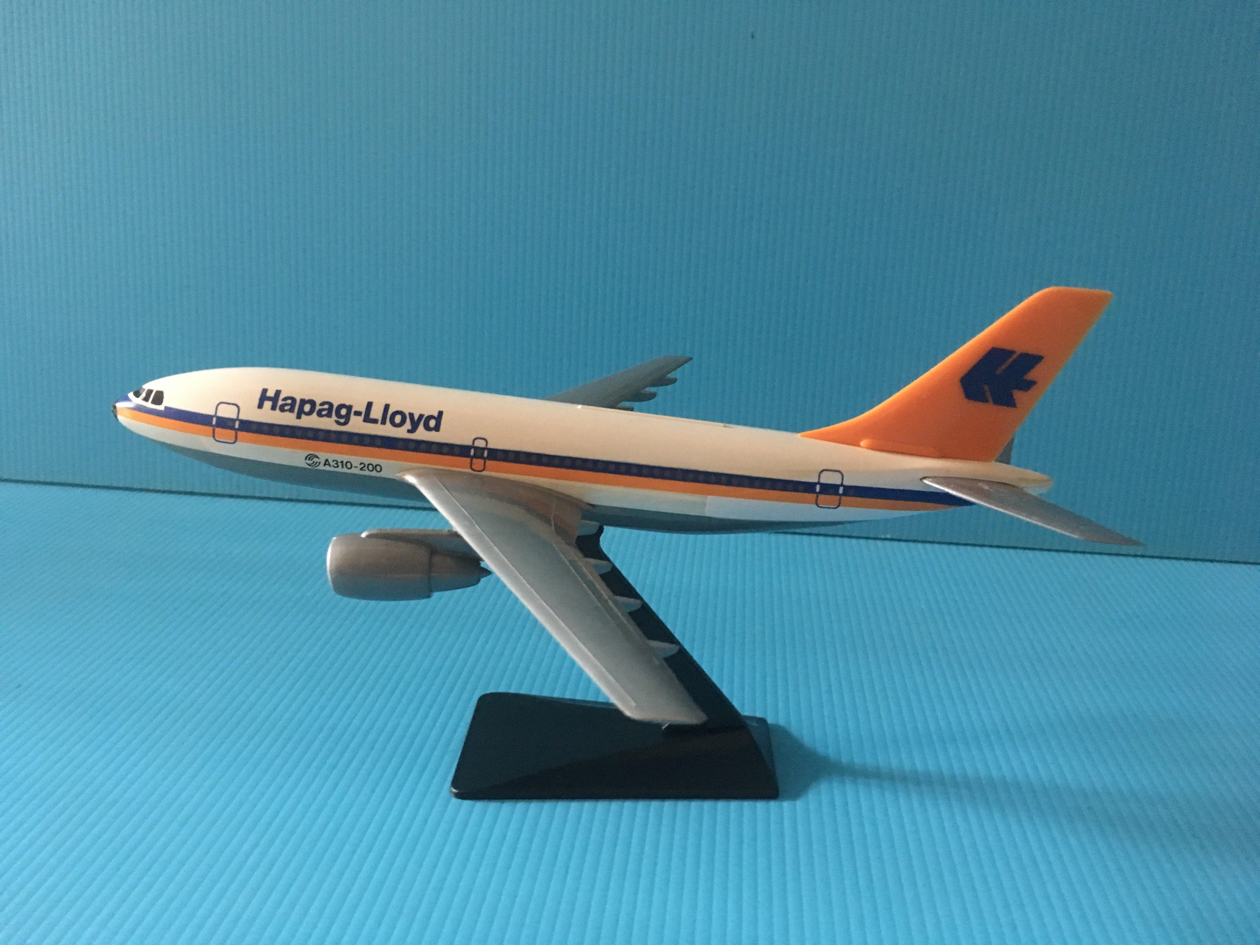珍上飛模型飛機:A310-200 (1:200) hapag lioyd(德國)