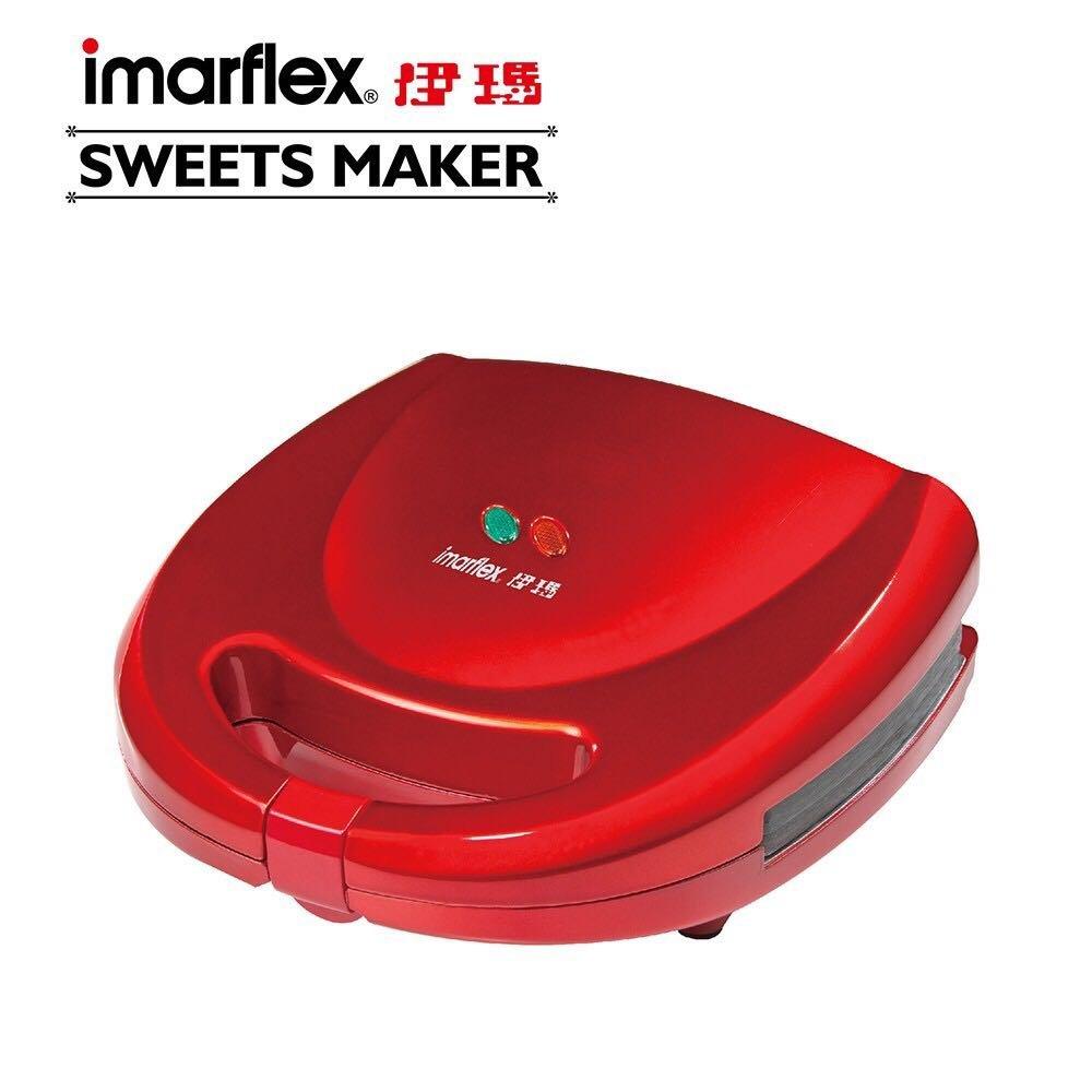 (好東西)日本 imarflex伊瑪 五合一烤盤鬆餅機 多功能/可換盤鬆餅機 IW-702