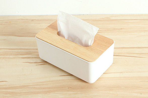 【批貨 】歐式實木面紙盒 橡木紙巾盒 客廳簡約木製蓋抽取式紙盒