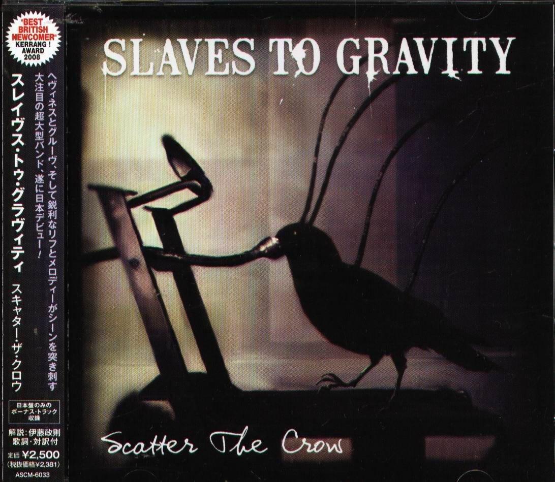 K - SLAVES TO GRAVITY - Scatter The Crow - 日版 +2BONUS