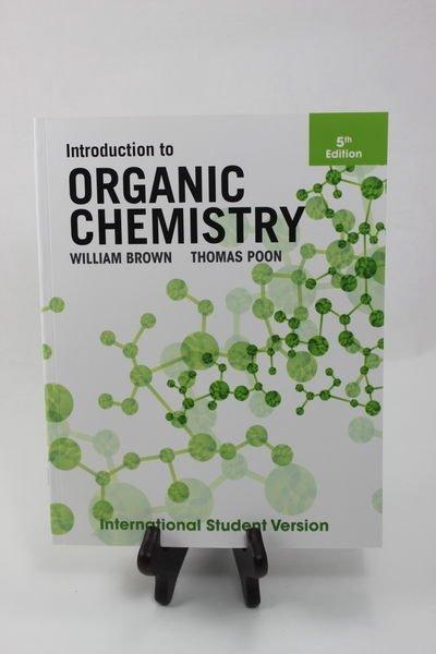 原文Introduction to Organic Chemistry Brown 9781118321768有機化學