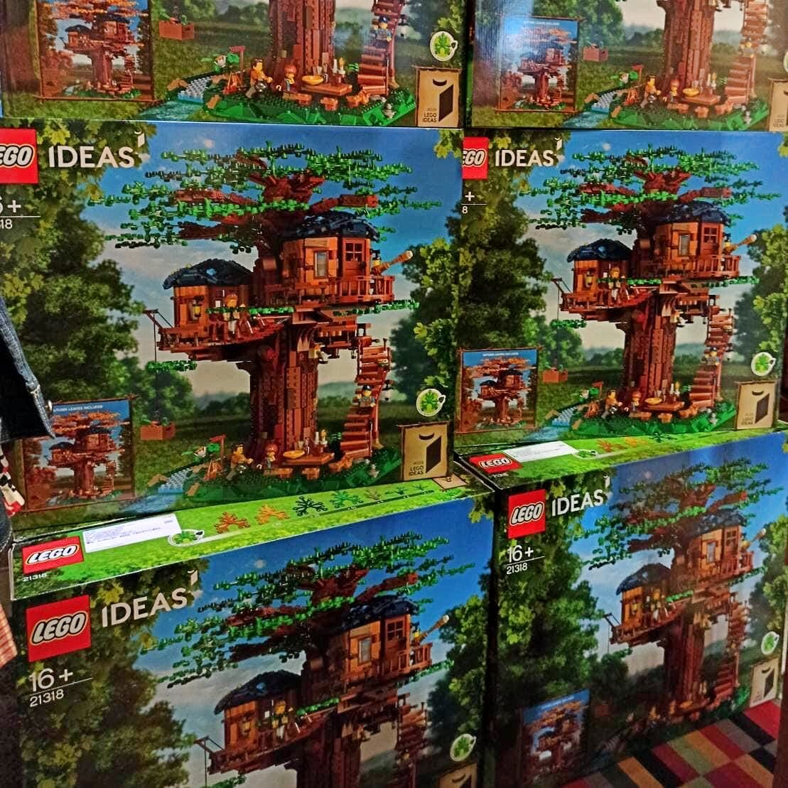 台南可面交 樂高 Lego 21318 樹屋 IDEAS 系列 ( 全新 輕盒損 )