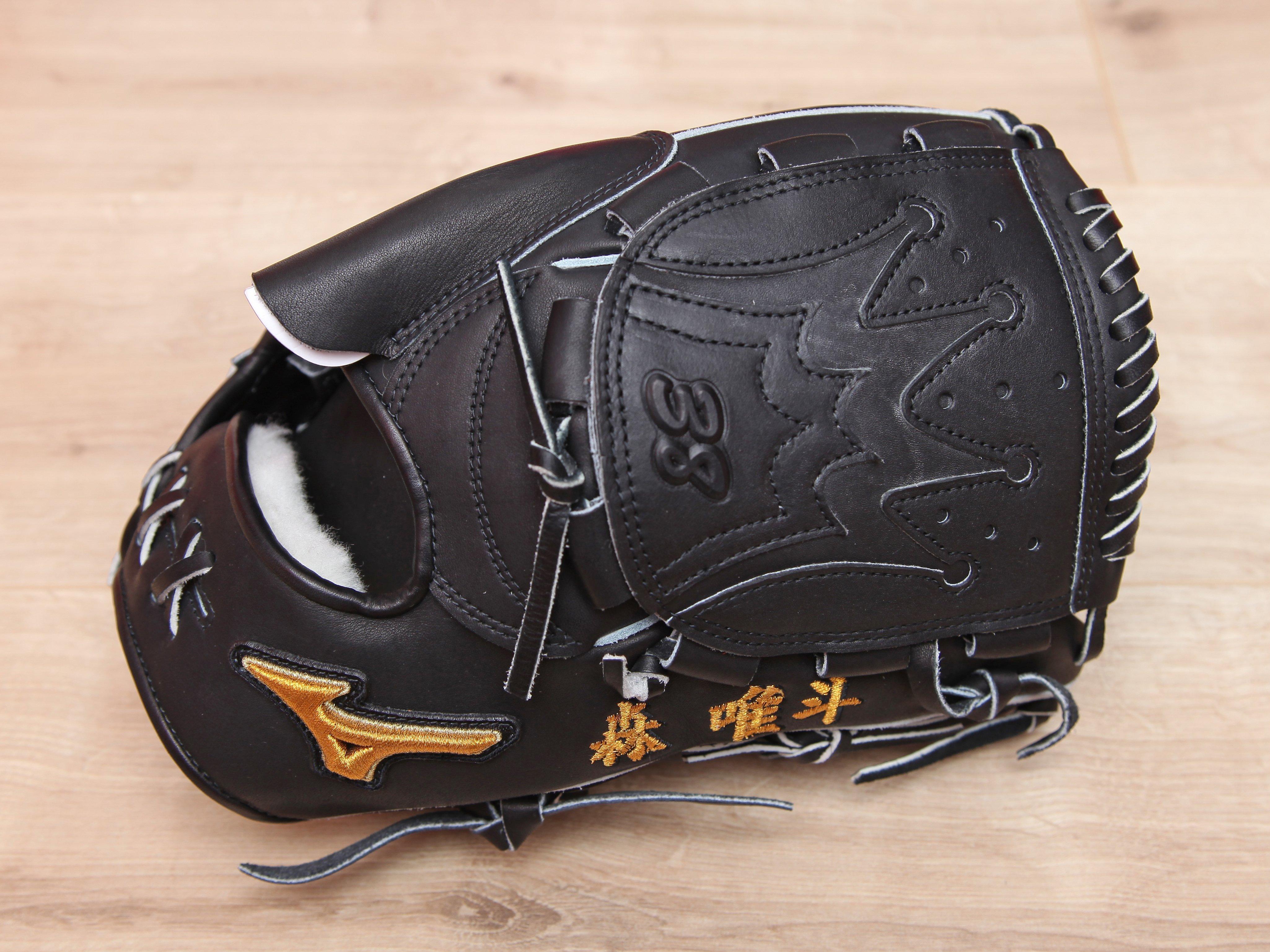 日本製 美津濃 MIZUNO PRO FOR P 福岡軟體銀行鷹隊 森唯斗 2017 實戰支給 硬式 投手 棒球 手套