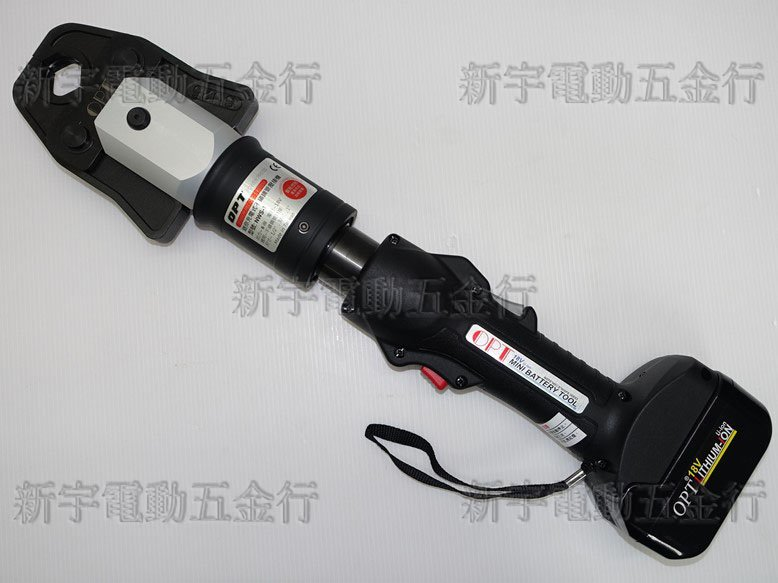 新款智能【新宇電動五金行】來電破盤價 台灣製造 OPT 充電式壓接機 NWS-1 機械式壓機接!REMS ASADA