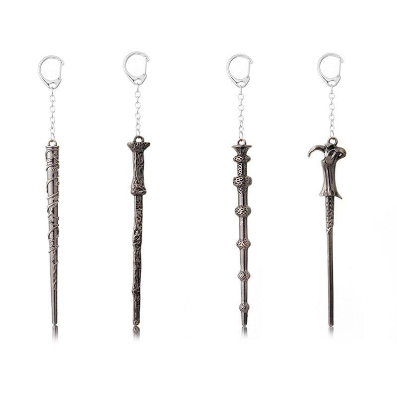 【夯爆好物】利多魔杖赫敏魔法哈利波特合金匙扣項鍊鑰 風格