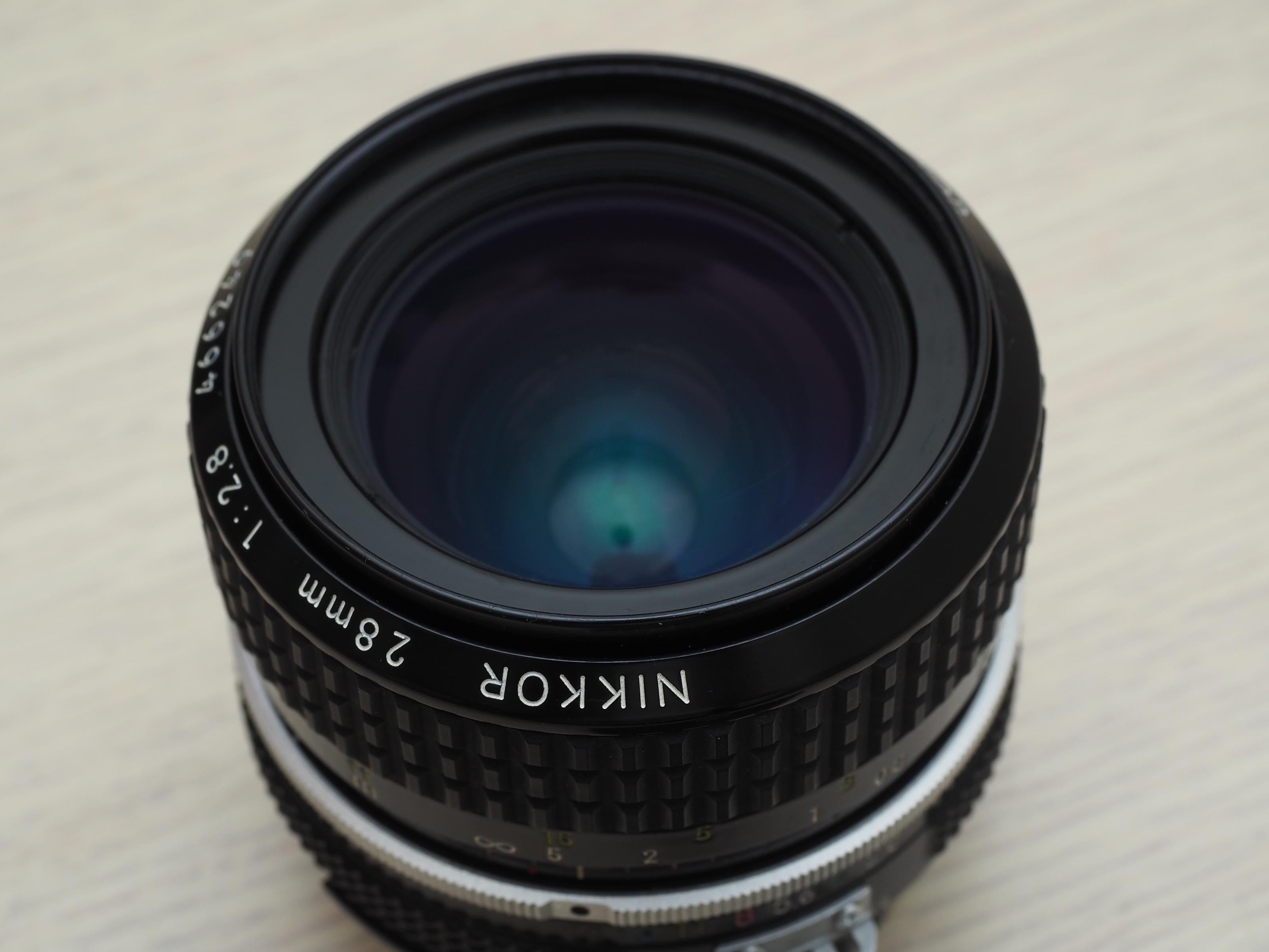 ☆林Sir石牌館 二手Nikon AIS 28mm f2.8 手動對焦鏡頭