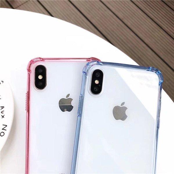 彩虹盾 軟邊+硬背 iPhone 11 X XR XS MAX i6 i7 i8 plus 防摔殼 手機殼 保護殼