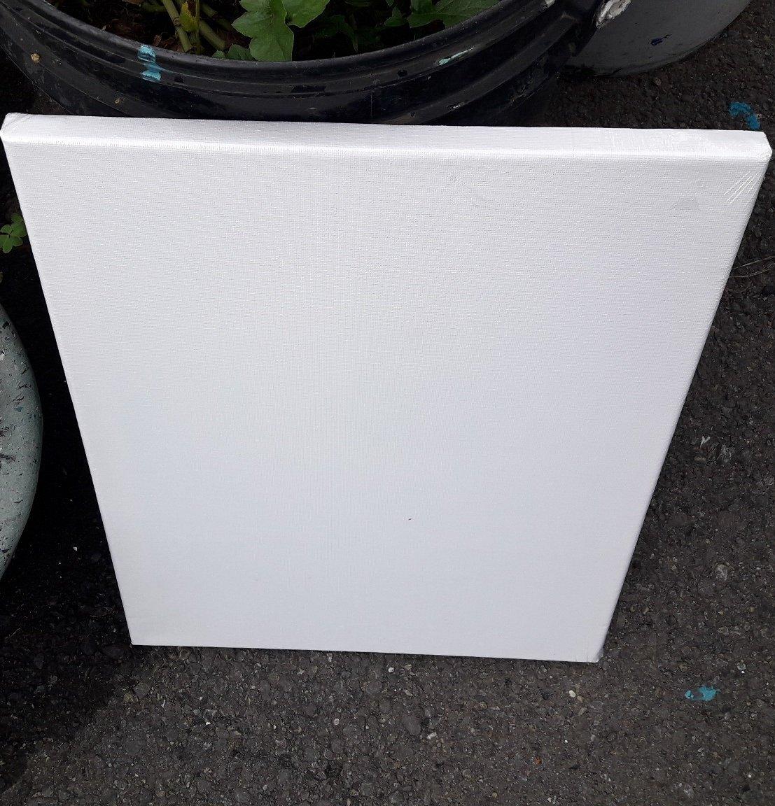 【五旬藝博士】空白 中型 油畫布板框 40*30CM 畫布畫板 (厚款) DIY 美勞素材 方形畫板 繪畫材料